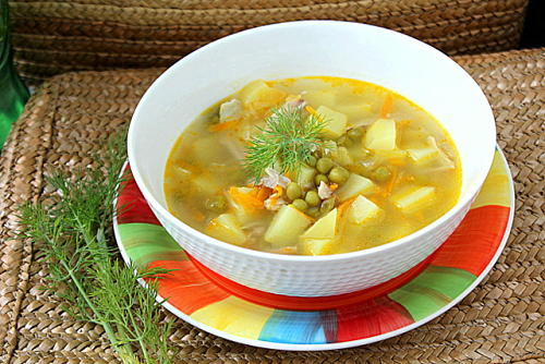 Гороховый суп как в детском саду рецепт с пошагово